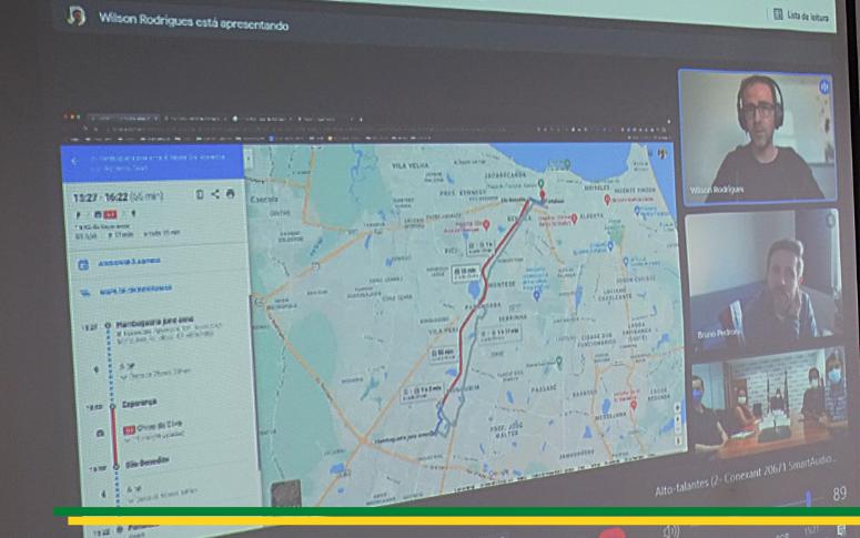 Google, em parceria com a Arce, disponibilizará dados de linhas da Região Metropolitana de Fortaleza